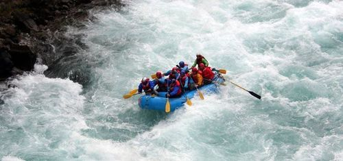 Rafting on Ganga- Rishikesh